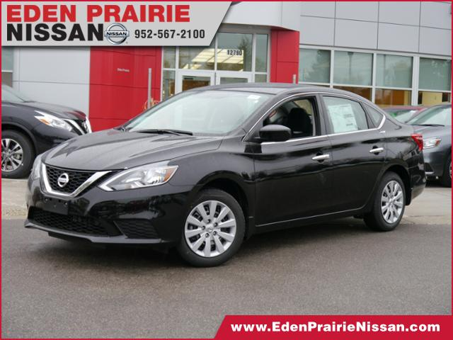 new 2017 nissan sentra sv for sale eden prairie mn. Black Bedroom Furniture Sets. Home Design Ideas