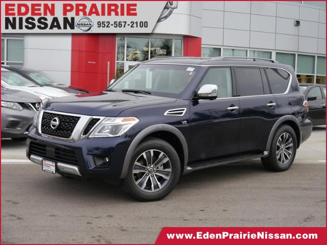 new 2017 nissan armada sl for sale eden prairie mn bloomington minneapolis mn h1296. Black Bedroom Furniture Sets. Home Design Ideas